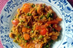 Gemüsepfanne: Schnelle Küche für 2 Personen